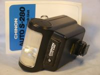 '  Chinon ' Chinon S-280 Flash + Inst -MINT- £7.99